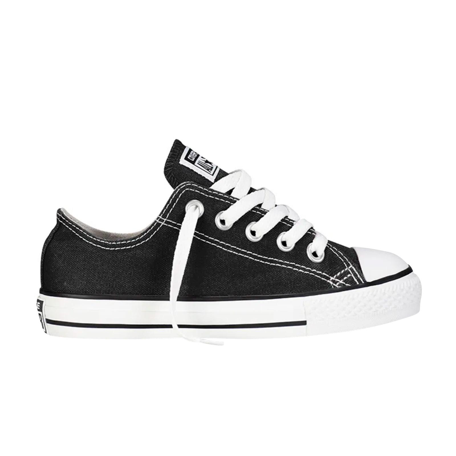 Convención Menstruación cómo utilizar  Zapatillas Converse Yths C/T All Star Ox Black E2014 Urbano para Niño |  Runa Store